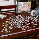 Happiness is a fresh pot of coffee and a 2000-piece…