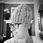 Hm. Does this hat make my head look big? #knitlife…