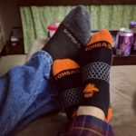 Tonight we're a his'n'hers ad for @bombassocks. (They really are…
