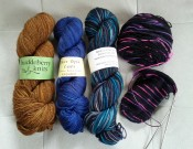 Sock Summit yarns