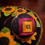 Progress. #temari #temariball #handmade #madronafiberarts #madronafiberarts2017 (Class by @marilynromatka, www.taprootvideo.com)