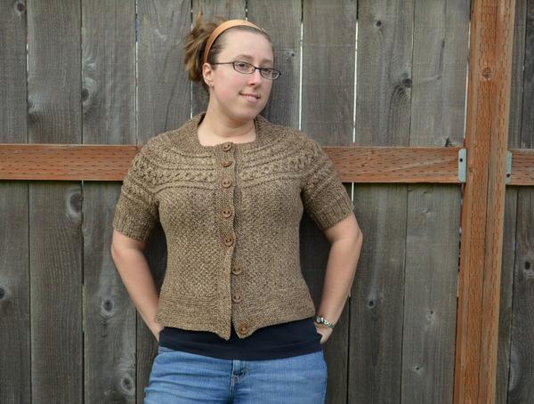 Helleborus Yoke sweater