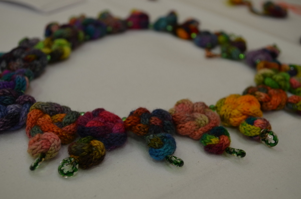 jazzknitting necklace