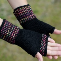 Holt fingerless gloves