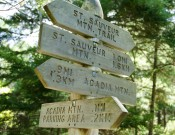 Acadia Park signs