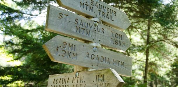 Acadia Park signs
