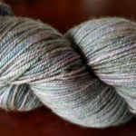 I am so enthralled with this skein of Anzula Nebula…