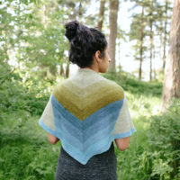 North Shore shawl