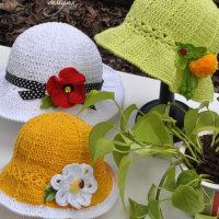 Garden Party hats