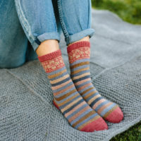 Saxe Point socks