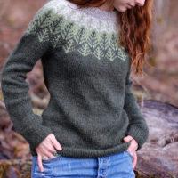 Skógafjall sweater