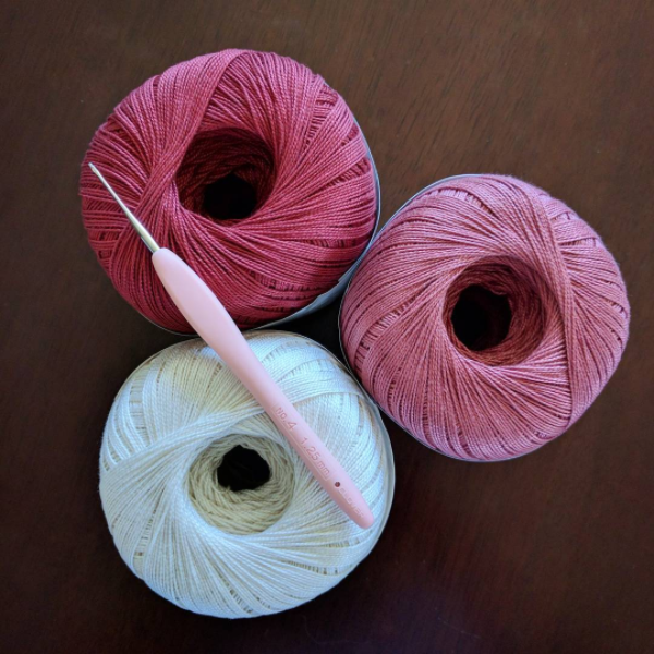 Knit Picks Curio crochet thread