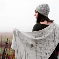 Valley of the Moon collection: shawl and hat