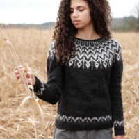 Dreyma colorwork lopapeysa sweater
