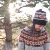 Umpqua sweater and hat